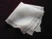 fine bridal handkerchief point de gaze lace