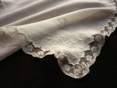 luxury lace wedding handkerchief