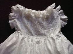finest white cotton baby clothes