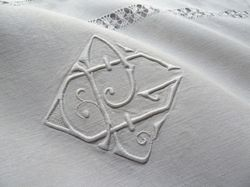 luxury linen and cotton embroidered pillowcases