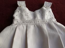 antique Fench Christening gown circa 1900