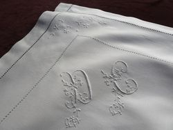 fine linen and lace pillowcases