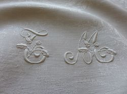 luxury linen damask table linens figural motif