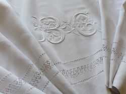 fine embroidered linens