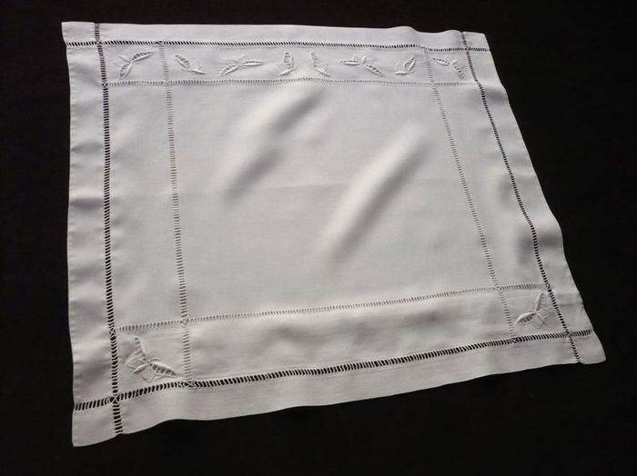 Baby vintage embroidered pillow sham