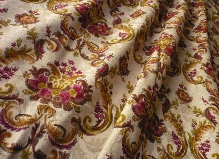 French 1950's Urge Fabric