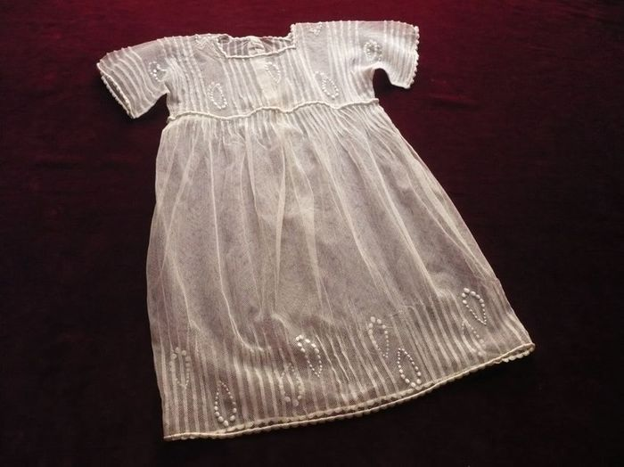 Fancy toddler  embroidered dress
