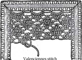 Valenciennes stitch